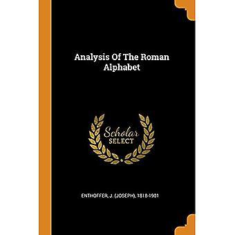 Analyse des römischen Alphabets