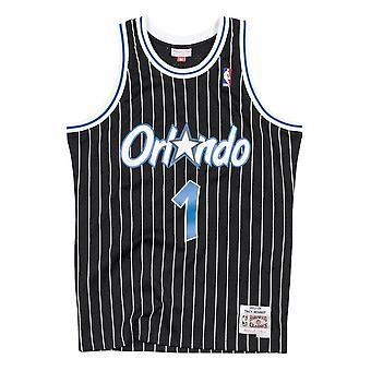 ミッチェル&ネス NBAスイングマンオーランドマジックトレイシーマクグレイディSMJYAC18098OMABLCK03TMCバスケットボールオールイヤーメンズTシャツ