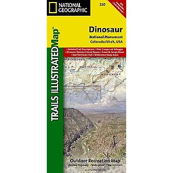 Dinosaur National Monument by National Geographic Maps
