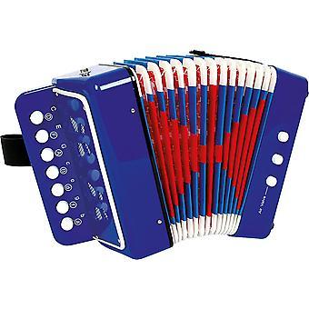 """FengChun 3318 Akkordeon """"Blau"""", frdert das Musik- und Taktgefhl, Musikinstrument mit"""