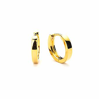 Eudora - Classic Hoop - Icons Earrings - Gold - Jewellery Gifts for Women from Lu Bella