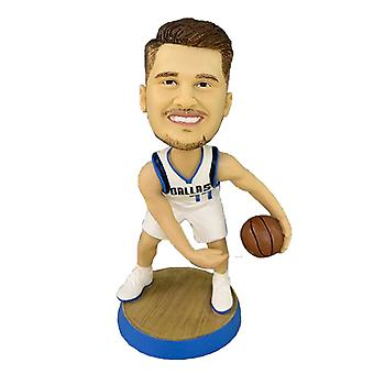 Luka Doncic Action Figure Statue Bobblehead Basketball Doll Decoration