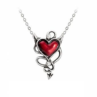 Alchimie - DEVIL HEART - Collier pendentif