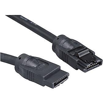 Akasa SATA-III 100cm Rounded Data Cable (SATA3-100-BK)