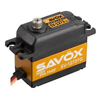 Savox 'High Voltage' Std Size Ultra Fast Servo 16Kg@7.4V