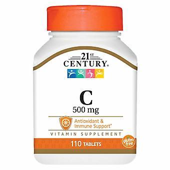 21st Århundre Vitamin C, 500mg, 110 Faner