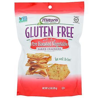 Miltons Cracker Gf Fire Rstd Veg, Case of 12 X 4.5 Oz