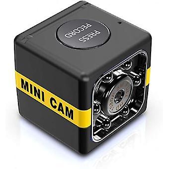 Mini Langaton HD-kamera night vision mini piilotettu vakooja kamera liikkeentunnistus videonauhuri perheautolle (musta)