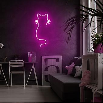 Katt - Rosa Rosa Vägglampa
