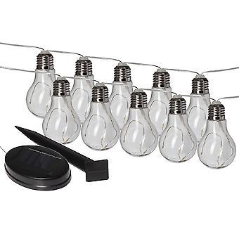 Status 10 x Solar Powered LED Lights
