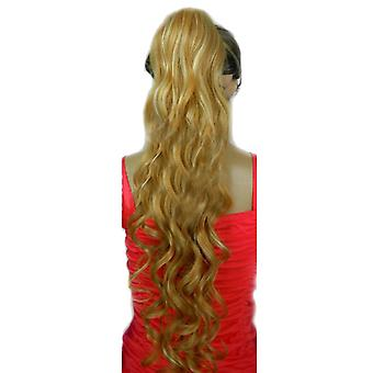 Long Curly Hair Wavy Curly Hair Elastic Button Ponytail