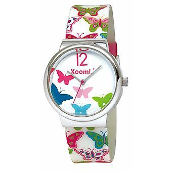 Xoom  92203298 Wrist Watch, Silicone Cord, Women's Watch, Sports Wrist Watch, 3 ATM Water Resistant