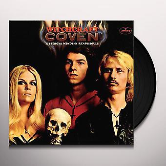 Coven - Witchcraft förstör sinnen & skördar souls vinyl