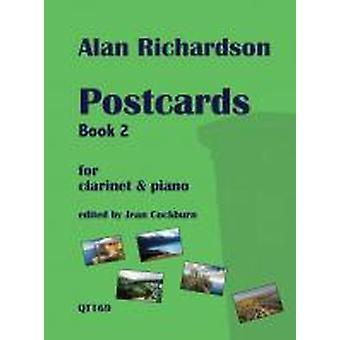 Postcards Book 2 For Clarinet & Piano Alan Richardson Ed: Jean  Cockburn