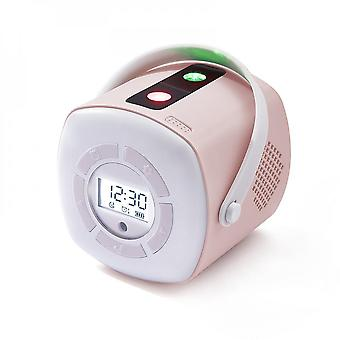Time Starry Sky Alarm Clock Projection Lamp Remote Ambient Night Light