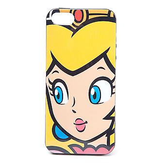 Super Mario Bros. Princess Peach Face Phone Cover für Apple iPhone 5 / 5S