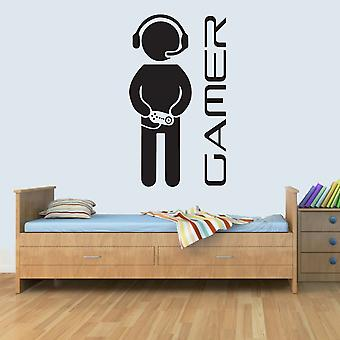 Custom PERSONAL Child Bedroom Computer Gamer Name Wall Art Decal Vinyl Stickers