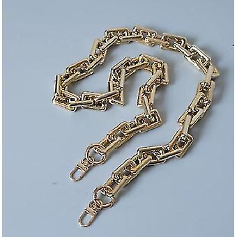 Arany akril szíj váll fogantyú lánc táska tartozék