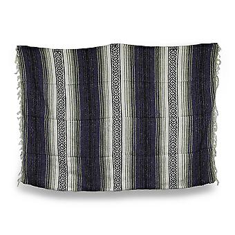 Earth Ragz Striped All Purpose Woven Blanket 5 Ft. X 7 Ft.