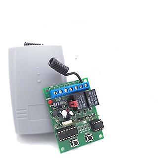 Receptor de código de rolamento da porta de garagem sem fio de 2 canais com código aberto