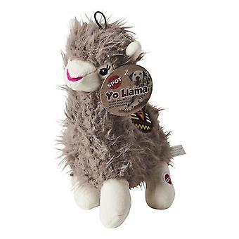 Spot Yo Llama Plush Dog Toy Assorted Colors - 1 count