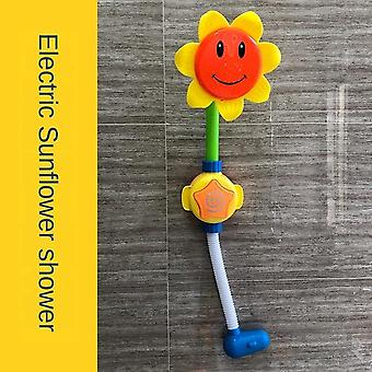 Gyermek fürdő érzékelő szökőkút elektromos oktatási Baba fürdőszoba fürdő nyárs buborék játék vízzel