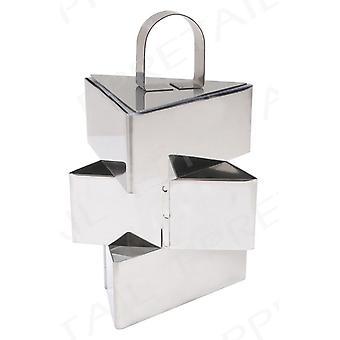 Kabalo Pro inox 3 peças triangulares alimentos Pressione Definir - cozinhar apresentação Rosti