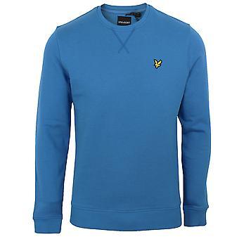 Lyle & scott men's yale blue sweatshirt