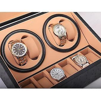 Pu watch storage box with automatic winder(Pu46z Us Plug)