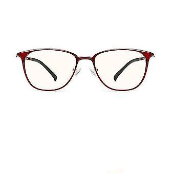 Antiblå ljus datorglasögon, antitrötthet (Ts Red)