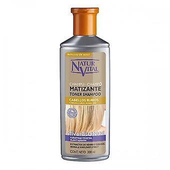 Tona schampo för blont hår Naturaleza Y Vida (300 ml) 22435 22435 22435