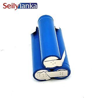 Batterij 2000mah 10.8v Li-ion 18650 Voor Weltbild 52 59 957, 5259957, D008-