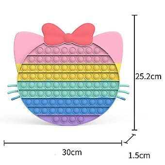 stressavlastning silikon blant oss push pop pop boble sensorisk fidget leketøy