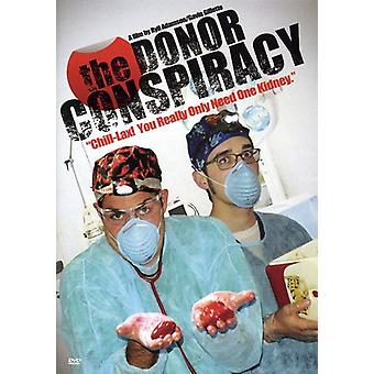 The Donor Conspiracy [DVD] USA import