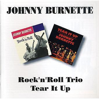 Johnny Burnette - Rock N Roll Trio ja Tear It Up [CD] USA tuonti