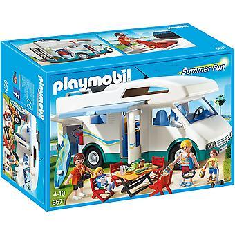 Playmobil 夏令营 6671
