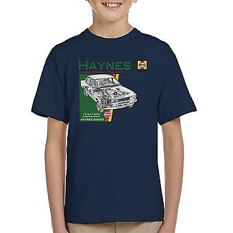 Haynes Owners Workshop Manual 0409 Ford Cortina 1300 Kid's T-Shirt