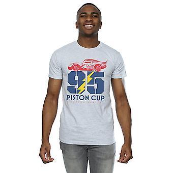 Автомобили Disney мужчин поршневые Кубок 95 футболку