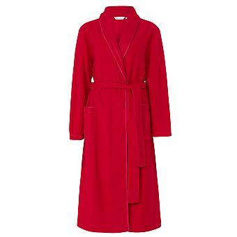 Slenderella HC6323 kvinners røde slåbrok House pels kappe