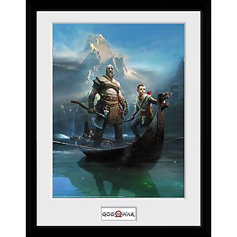 God of War Key Art Collector Print 40x30cm