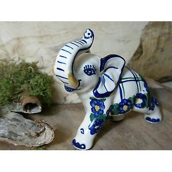 Elefante, pequena, 10 x 4 x 9 cm, único 50 cerâmica louça barata - BSN 5731