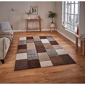 Brooklyn 21830 Rectangle gris Beige tapis tapis modernes