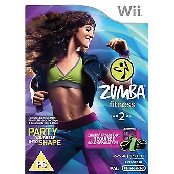 Zumba 2 Fitness (Wii) - Jeu Uniquement - Nouveau
