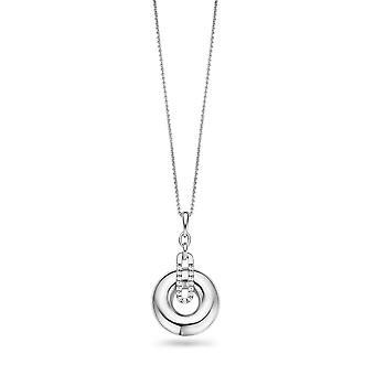 Orphelia plata 925 collar circonio ZK-2769