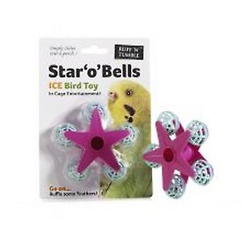 Sharples Ruff N Tumble Star O Bells Bird Toy