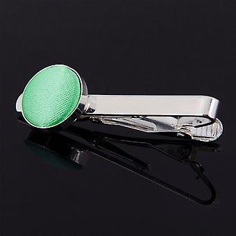 Mint Grün Plain Krawattenklammer