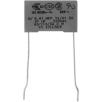 Kemet R413F13300000M + 1 PC condensador de supresión de MKP Radial plomo 3.3 nF 300 V 20% 10 mm (L x W x H) 13 x 4 x 9