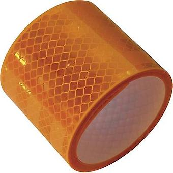 LAS 10217 10217 Reflective tape Yellow (reflective) 2 m (L x W) 2 m x 50 mm