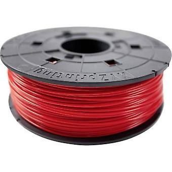 Glødetrådens XYZprinting PLA 1,75 mm rød (gennemsigtig) 600 g Junior