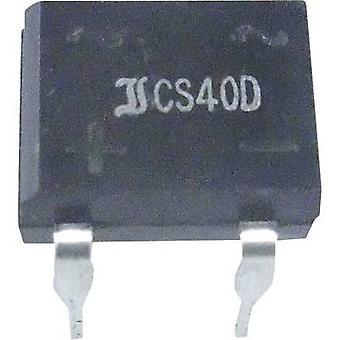 Diotec B40D גשר דיודה דיל 4 80 V 1-שלב 1